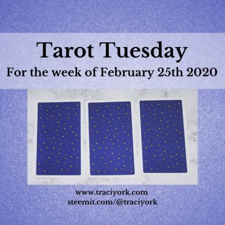 February 25th 2020, Tarot Tuesday thumbnail