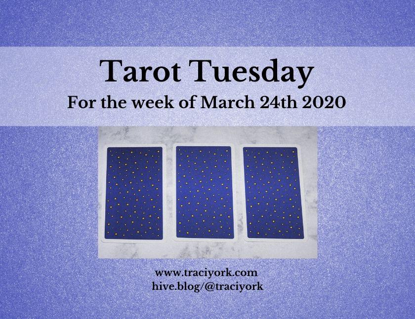 March 24th 2020, Tarot Tuesday thumbnail