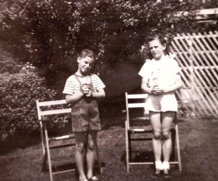 Thirteen Throwback Thursday Photos - Mom and Aunt Mary