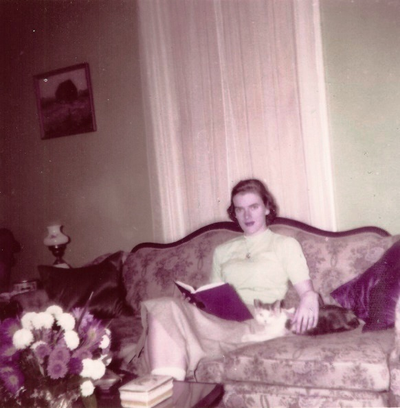 More scans of Mom and Aunt Mary, 1930s to 1960s