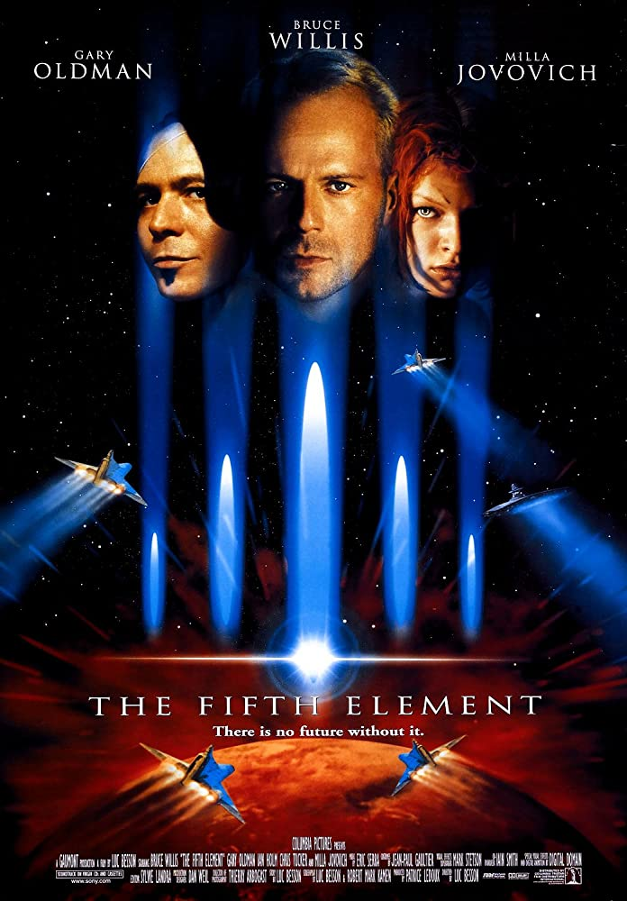 Fifth Element Favorite End of the World Movies