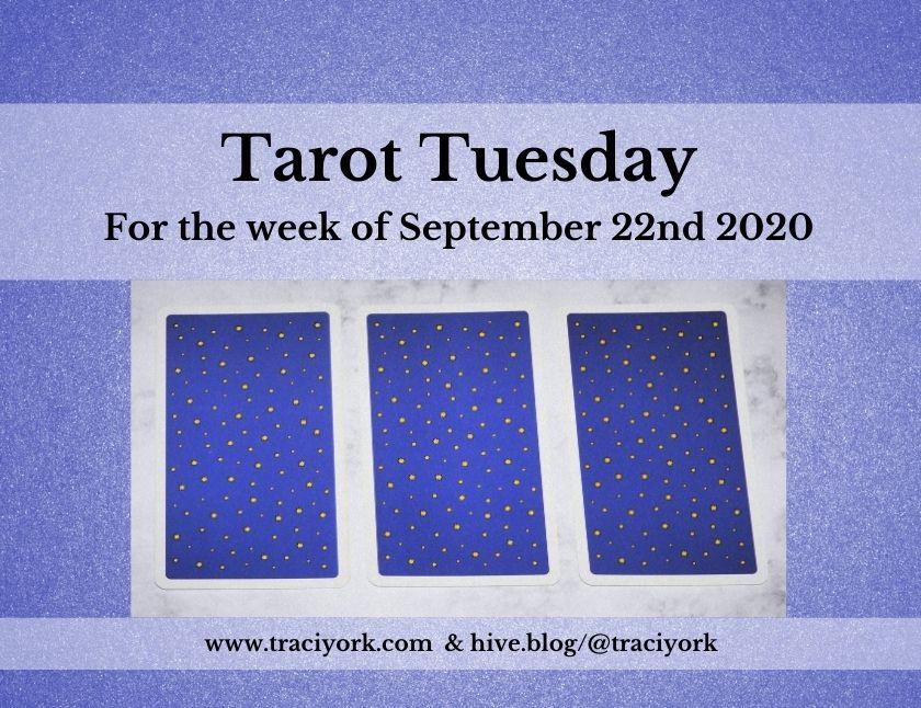 September 22nd 2020, Tarot Tuesday thumbnail