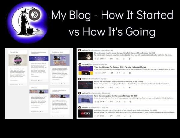 My Blog - How It Started vs How It's Going blog thumbnail