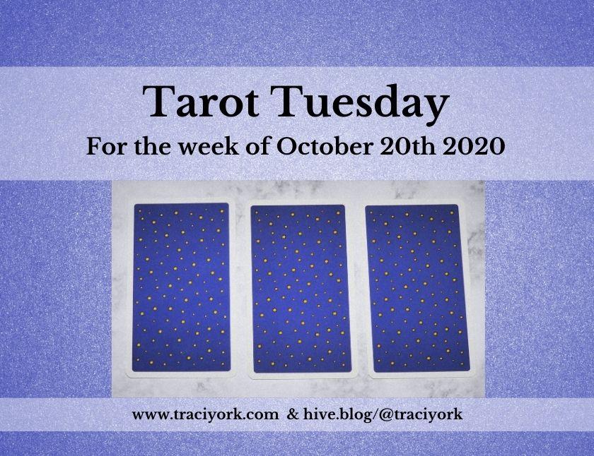 October 20th 2020, Tarot Tuesday thumbnail