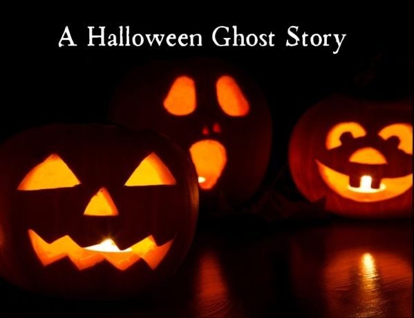 Trick or Treating for a HiveBuzz badge with a Halloween Ghost Story blog thumbnail