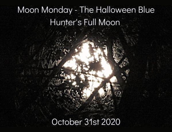 Moon Monday - second set of the Halloween Blue Hunter's Full Moon blog thumbnail
