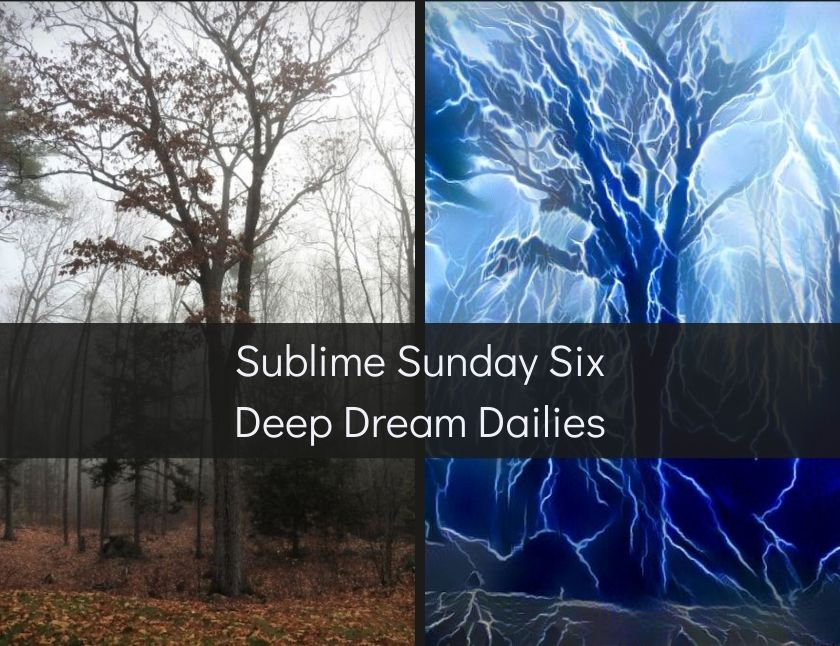 Sublime Sunday Six Deep Dream Dailies blog thumbnail