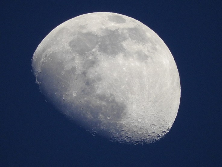 Waxing Gibbous Moon on April 22nd, 2021