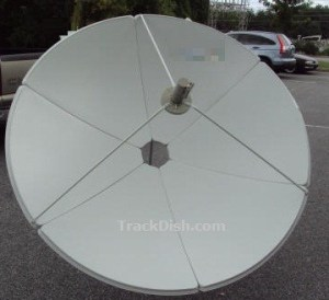 C-band-satellite-dish