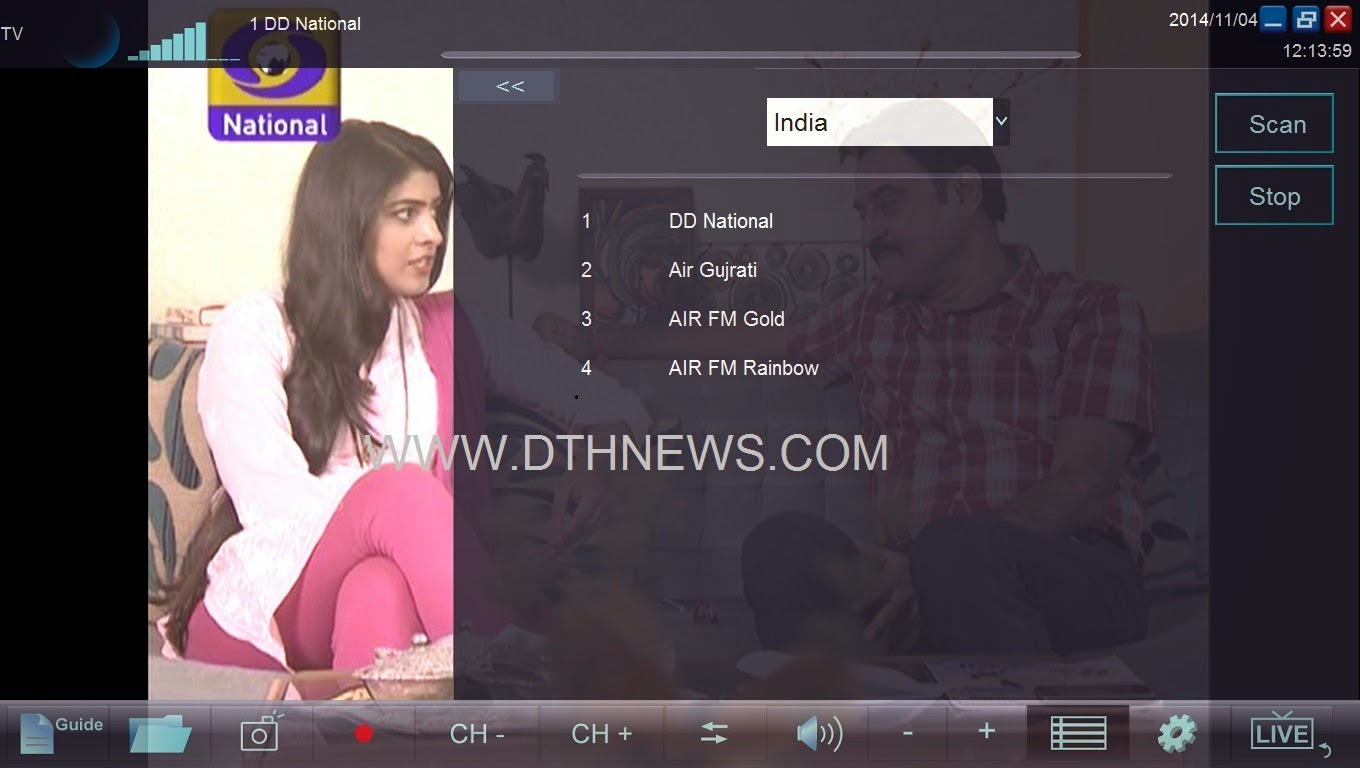 Top 10 Punto Medio Noticias | Dvb T2 Channels List In India 2018