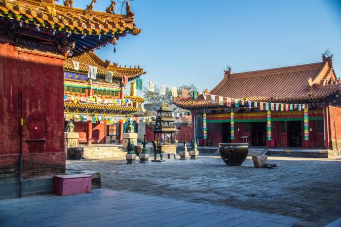 Buddhist temple in Hohhot