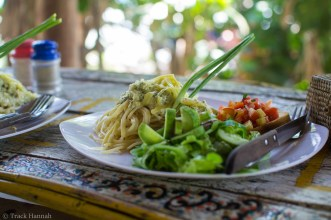 The food in Kactus, the guesthouse we stayed was the best I've had in South East Asia so far.