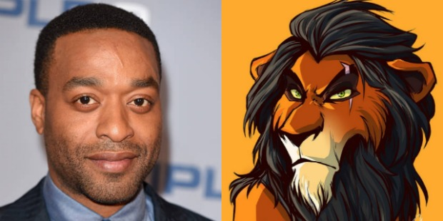 Image result for chiwetel ejiofor as scar