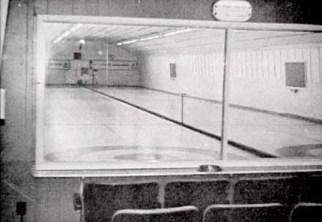 Two sheet curling rink, CFS Dana, Saskatchewan