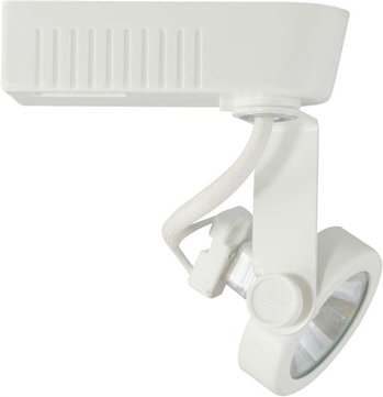 Direct Lighting 50016 White Mr16 Gimbal Ring Low Voltage Track Lighting Head Track Lighting Shop