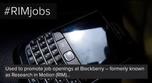 BlackBerry hashtag fail