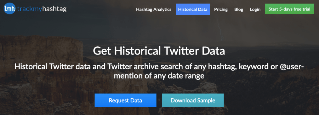 download historical Twitter data
