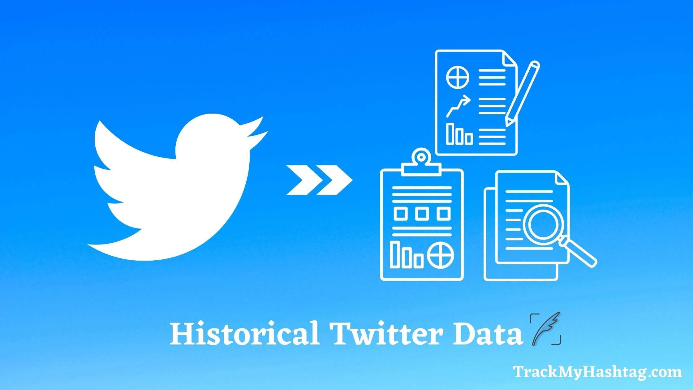historical Twitter data blog banner