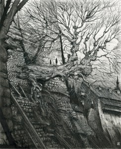 Gormenghast illustrated by Ian Miller