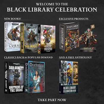 Black Library Weekly – W/C 19/02/18 – Track of Words