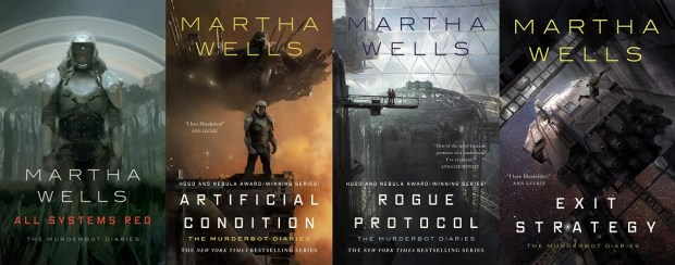 The Murderbot Diaries 1 to 4 by Martha Wells – Track of Words