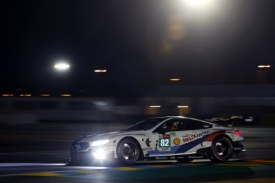 BMW M8 GTE LeMans Debut
