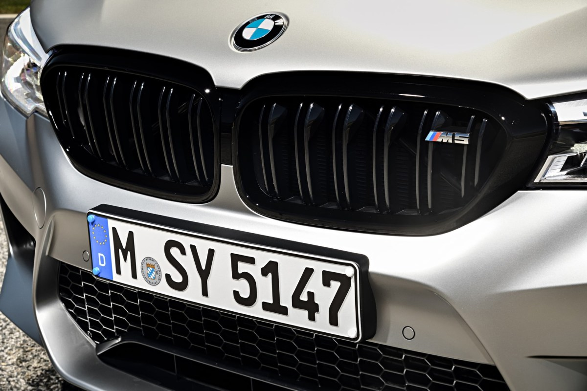 The new BMW M5 Competition 22
