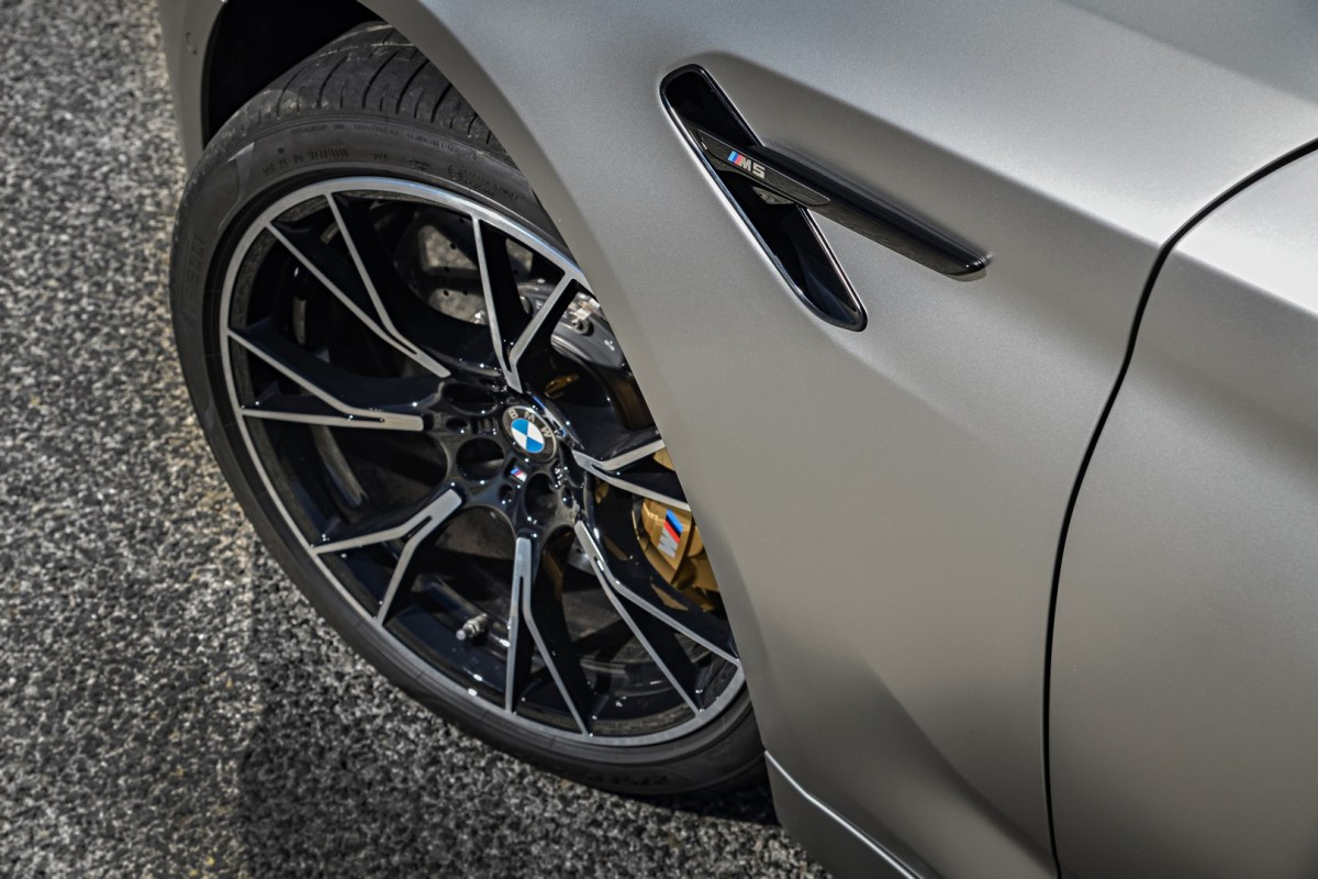 The new BMW M5 Competition 21