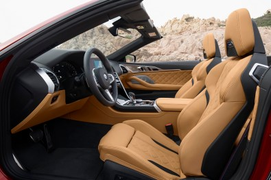 M8 Competition Convertible Driver Seat
