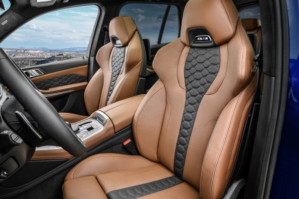 BMW X5 M and BMW X5 M Competition Interior