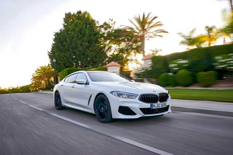 The New BMW 8 Series Gran Coupe