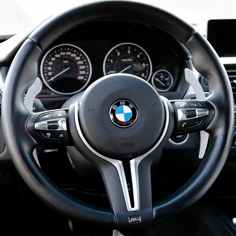 Carbon Fibre BMW Paddle Shifters For BMW F Series 12