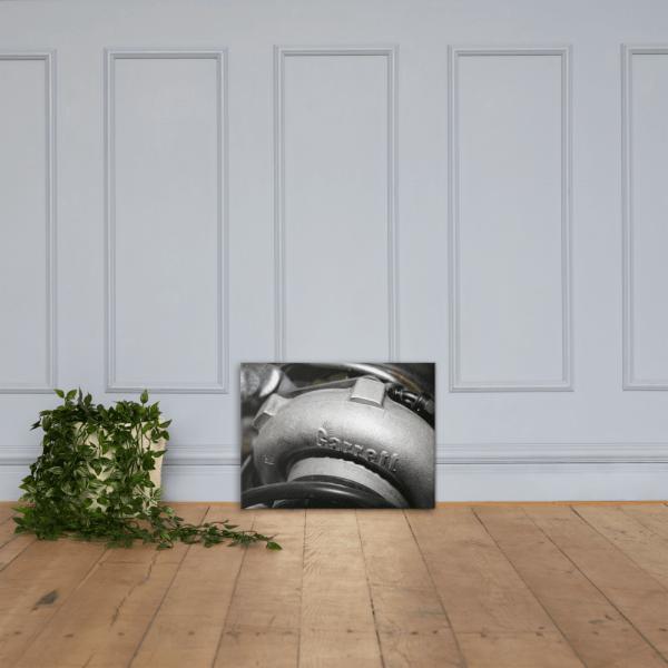 Garret Turbo Canvas Print