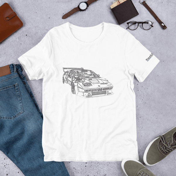 TrackRecon Official BMW Classic M1 Procar T-shirt
