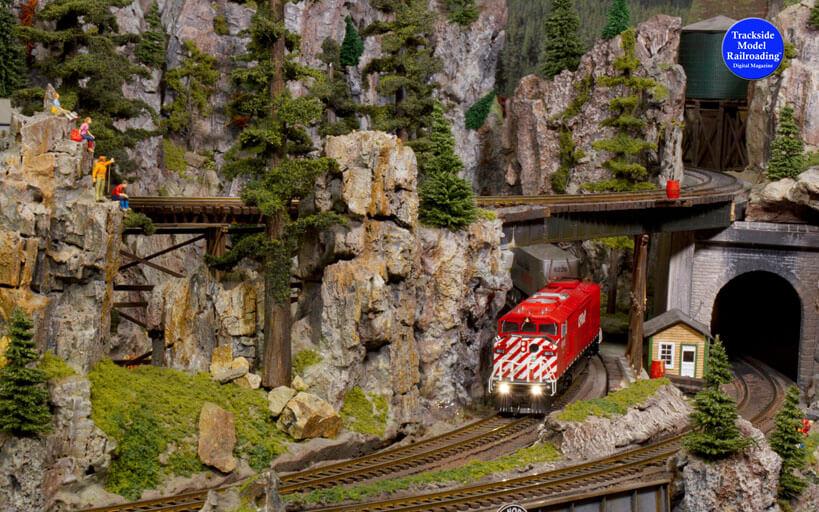 Canadian Pacific SD40-2F model train in Trackside Model Railroading digital magazine January 2020