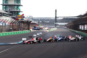 2015 Indy Lights Indy Race One Start