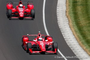 Dixon ahead of Rahal on Carb Day