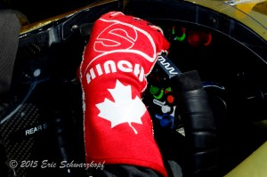 Hinch's tribute Red gloves
