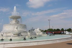 The James Scott Memorial Fountain - that the people here like - even if the guy was reportedly of questionable character.