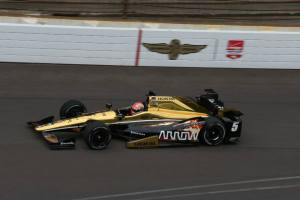 James Hinchcliffe Indy 500 Quals - Source SPM