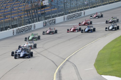 2015 Iowa Indy Lights Start