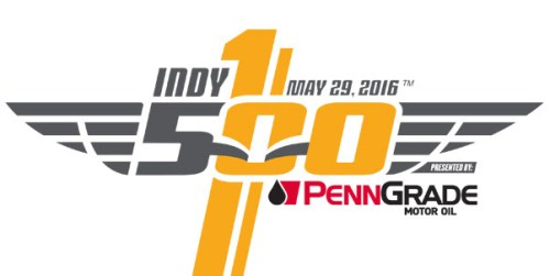100th running of the Indianapolis 500 logo