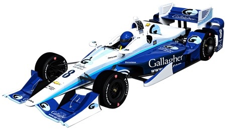Max Chilton will pilot the Arthur J. Gallagher & Co sponsored No. 8 Chevy for Chip Ganassi Racing in 2016 (Photo Courtesy of Chip Ganassi Racing)