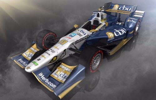 The KVSH Racing No. 11 of Sebastien Bourdais  will feature a California Baptist University livery for the Toyota Grand Prix Of Long Beach (photo courtesy of KVSH Racing)