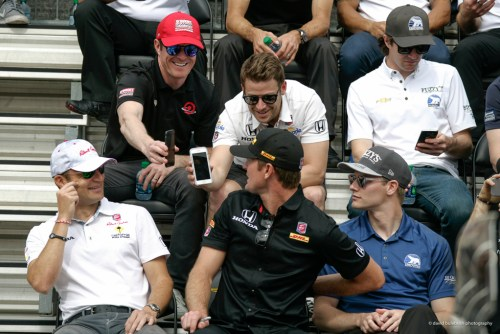 Marco Andretti, Scott Dixon, Ryan Hunter Reay