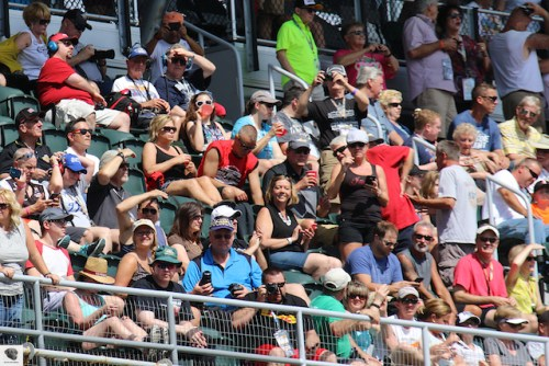 Carb Day Fans