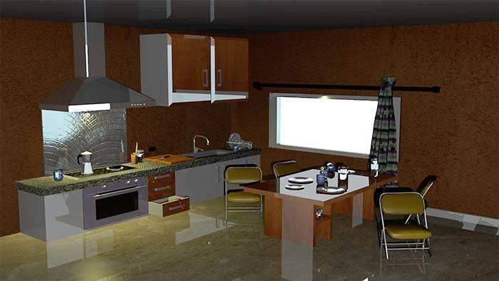Trabajo de diseño 3d de alumnos máster en diseño gráfico