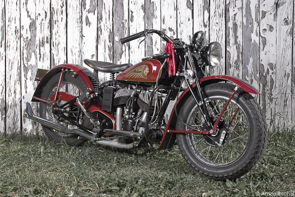 Heirloom Indian: Grampa's 1940 Indian Sport Scout Comes Home To Play