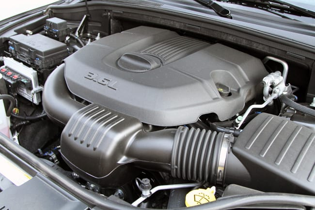 2011 Dodge Durango Citadel Review engine