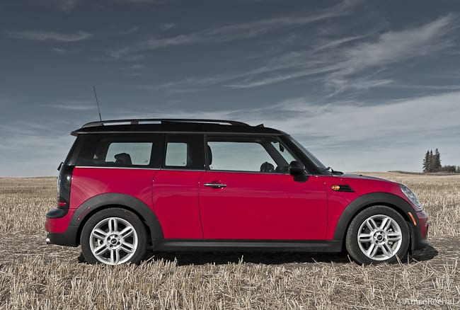 2011 MINI Cooper Clubman Review sideview